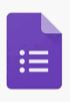 Formulario de evaluación de los recursos aportados para poder mejorar en futuras versiones.